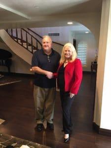 Dan Portik and Sharon Lechter